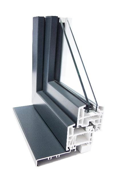 Les fenêtres avec châssis mixtes PVC-alu